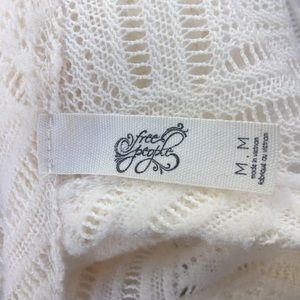Free People Tops - Free People Gracie Lace top |Med | cream